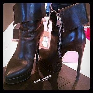 Saint Laurent Janis 105 Ankle Boot